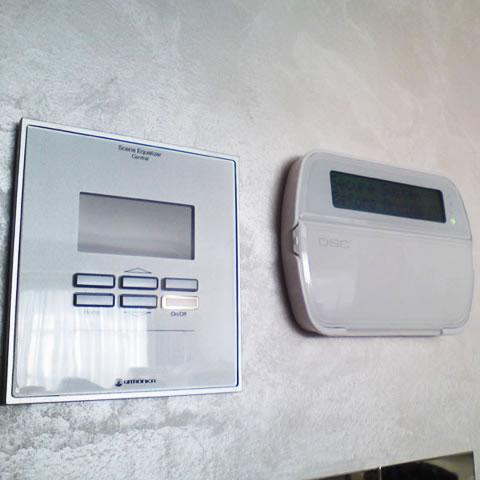 LCD πληκτρολόγιο με πλήκτρα